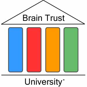 Brain Trust University logo